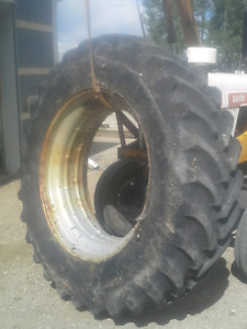 18.4-R42 tires with rims