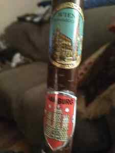 Vintage German made cane with badges London Ontario image 5