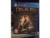 Deus Ex: Mankind Divided PS4 Swaps