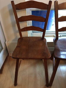 Vilas Maple Chairs - Set of Four