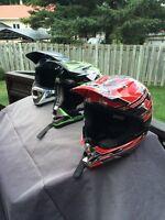Casque motocross / vtt