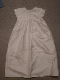 3-6 month christening dress and shrug