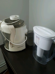 Hamilton Beach Juicer & Brita Water Pitcher