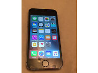 Apple iPhone 5s 16GB Vodafone talk talk Lebara networks silver gray excellent condition (1264)