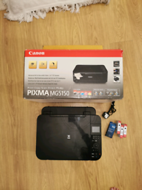 Canon Pixma MG5150 all in one Printer Scanner, with ink