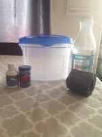 Betta supplies and small tank
