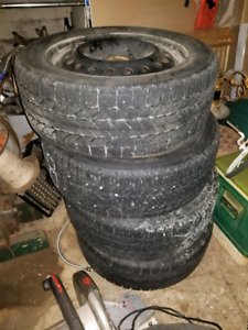 205/ 55 /16  bf Goodrich winter tires.