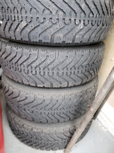 Used winter tires with rims 185/65/14