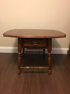 Vilas Solid Maple Coffee Table and 3 End Tables