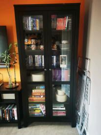 Hemnes glass door cabinet