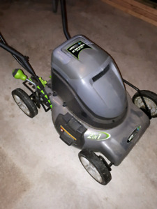 Earthwise 24v cordless lawnmower