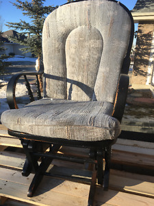 All Wood Rocking Chair For Sale