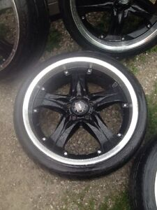 """20"""" wheels and tires off Mustang"""