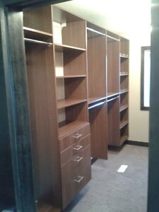 Need new closet shelving for your clotes?