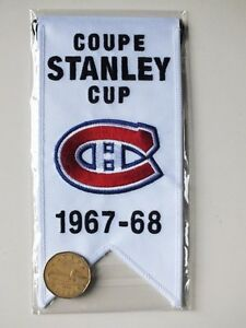 CENTENNIAL STANLEY CUP 1967-68 BANNER MONTREAL CANADIENS HABS Gatineau Ottawa / Gatineau Area image 2