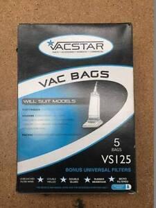 Vacuum Bags 5Pk VS125 $5.00 Invermay Launceston Area Preview