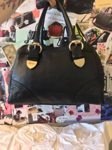 Classic GG Print Gucci Bowler Bag *Authentic*