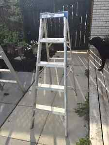 5 foot aluminum step ladder (2 available) Peterborough Peterborough Area image 2