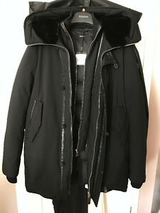 Manteau RUDSAK Coat **BRAND NEW** Mens M Black