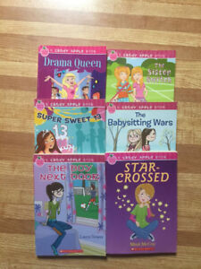 6 Candy Apple Kids Chapter Books (ages 9-12)