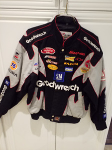 GM Goodwrench Chase Authentic Jacket Sz L NASCAR Embroidered