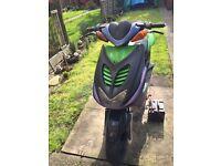 Yamaha Aerox 70cc fast bike