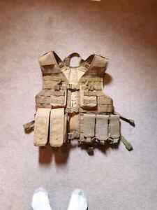 Airsoft or paintball vest