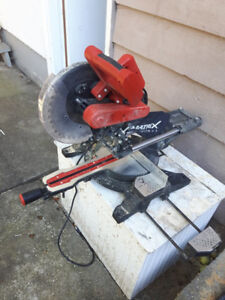power tools  and  mitre saw