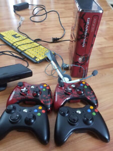 Xbox 360 and many extras .......sold as a bundle!