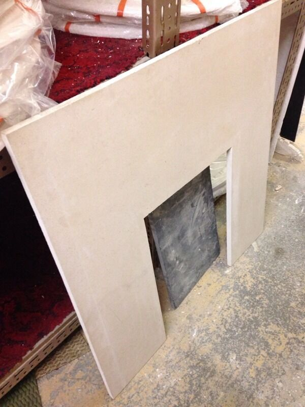 Limestone Back Panel Fireplace 37 Quot X37 Quot In