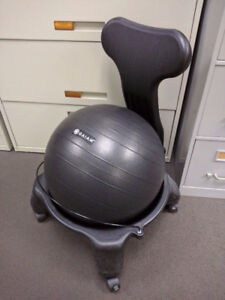 Gaiam stability ball chair