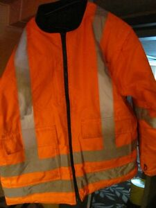 Hi-vis work jacket
