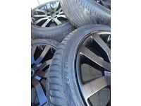 Range Rover supercharged alloy wheels