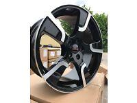 "20"" alloy wheels Alloys Rims 5x120 tyre tyres vw Volkswagen transporter t5 t6 t5.1 Caravel"