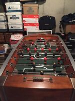Deluxe Sportcraft Foosball Table - excellent condition.