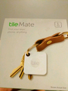 Tile Mate Bluetooth Tracker brand new in box