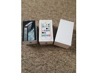 iPhone 4s 5s and iPhone 6 boxes