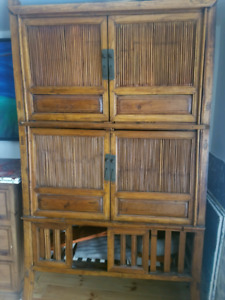 Asian antique kitchen cabinet