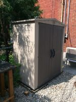 Cabanon Keter 3.5' x 5.5' Keter Shed