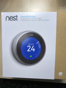 Nest Learning Thermostat - Unopened Still In Box