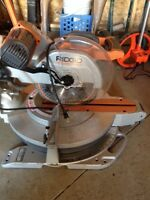 "12"" sliding mitre saw rigid"