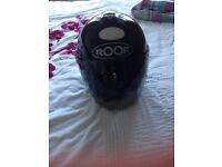 Roof motorbike helmet
