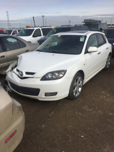 2009 mazda 3 for parts