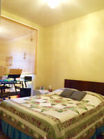 Double Room/Office for rent/ chambre avec bureau, weekly/monthly