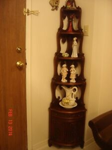 Antique Corner Shelf Very Unique a Must see Look at Photos