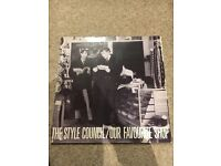 Style council albums and 12 inch singles
