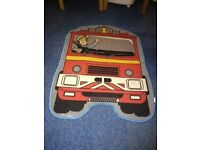 Firefighters play mat