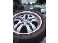 Bmw 3series 16 inch alloy wheel only no tyre
