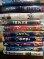 VARIOUS DISNEY AND OTHER KID'S CLASSIC VHS MOVIES 40+