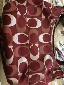 "Authentic Coach purse  for sale 16""x10""x5"" Kitchener / Waterloo Kitchener Area image 5"
